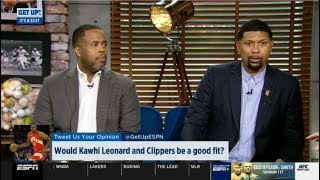 ESPN GET UP | Would Kawhi Leonard and Clippers be a good fit?