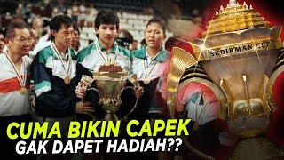 Sejarah Kejuaraan Tanpa Hadiah, PIALA SUDIRMAN!!! 🔥🔥🔥