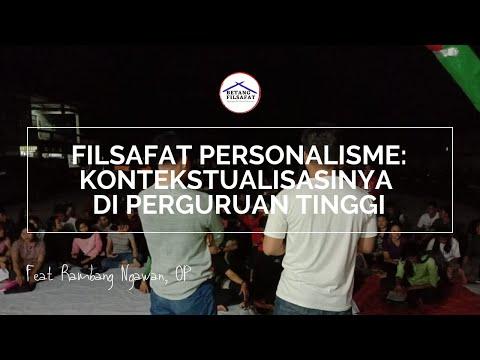 [KELAS FILSAFAT] FILSAFAT PERSONALISME YOHANES PAULUS II feat Rambang Ngawan, OP