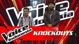 Syahril vs Ava | Knockouts | The Voice Indonesia GTV 2018