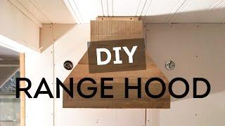Diy Range Hood New Floors Kitchen Progress Cottage House Flip Episode