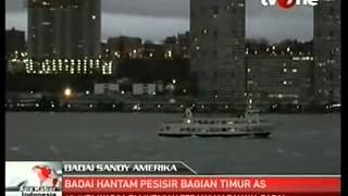 Badai Sandy Tunda Jadwal Kampanye Pemilu AS (October 30, 2012) - TV One