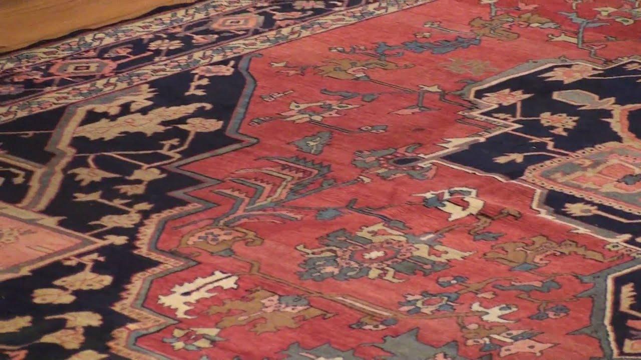 Antique Heriz Serapi Persian Rugs 2570