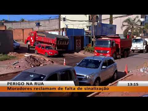 JL - Moradores de Vicente Pires  reclamam de falta de sinalização