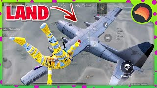 Landing On AirPlane With @Sevou | PUBG MOBILE