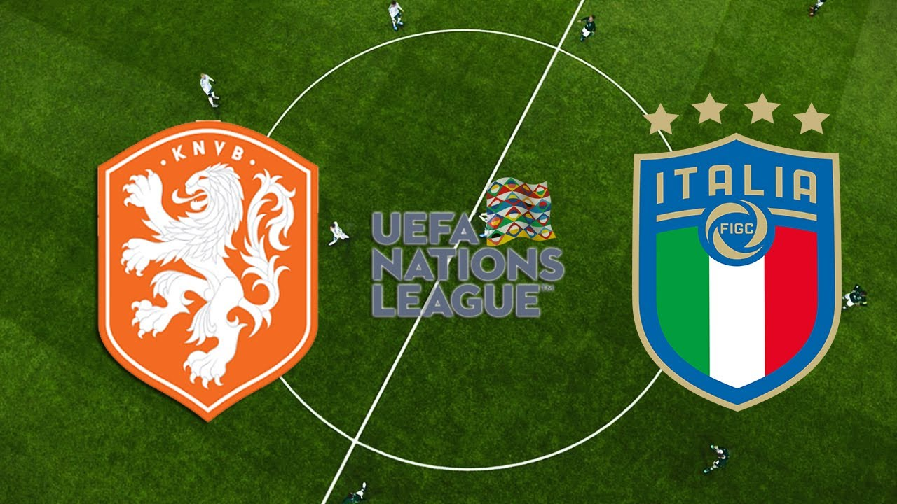 Holanda X Italia Liga Das Nacoes Da Uefa 07 09 2020 Youtube