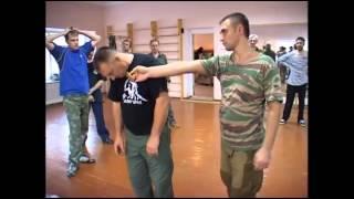 Боевые искусства.Рукопашный бой.Русский стиль.Ставить нож в плоскость.
