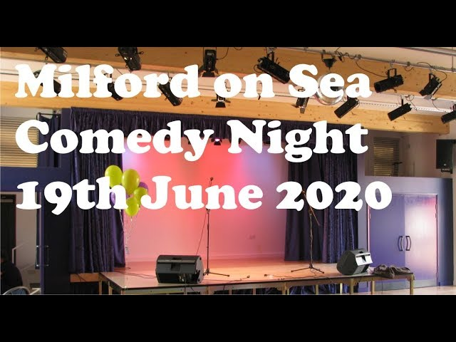 Milford on Sea Comedy Night