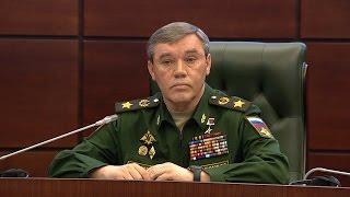 По решению Верховного Главнокомандующего, МО РФ приступает к сокращению группировки ВС РФ в Сирии