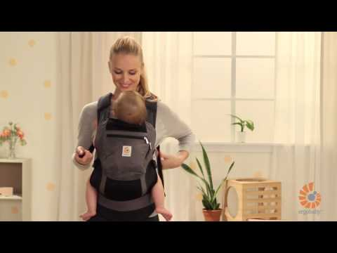 How Do I Use Infant Insert? | 4-6 Months | Performance Baby Carrier | 2014 | Ergobaby