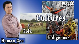 Folk Culture, Pop Culture, Indigenous Culture (AP Human Geography)