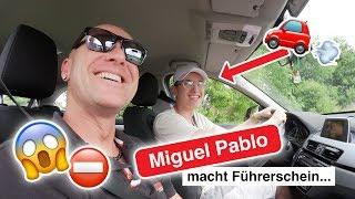 Miguel Pablo macht in 7 Tagen seinen Führerschein #1 | Fischer Academy