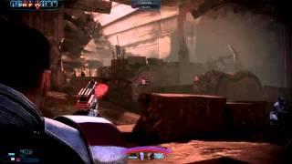 Mass Effect 3 - Vanguard Destroys All - Turian Platoon Missing