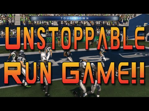 Madden 15 Tips: Unstoppable Run Game??- Madden Gameplay Commentary