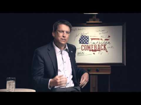 American Comeback - North Carolina Gov. Pat McCrory