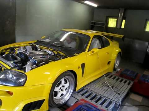 5d470b9f773f Yellow Supra 1000+HP - YouTube