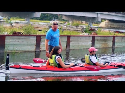"""Two Lights"" Tandem Kayak Overview"