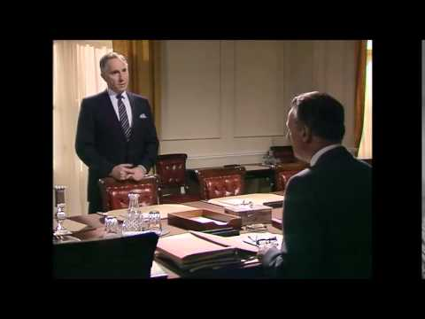 Yes Prime Minister. Sir Humphrey on foreign policy