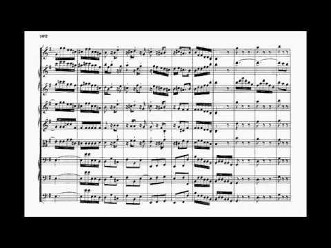 BACH: Concierto de Brandenburgo N 4,  Dir. Herbert Von karajan.