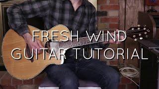 Hillsong   Fresh Wind Acoustic Guitar Tutorial
