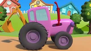 Весёлый трактор