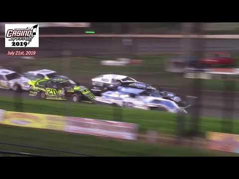 Casino Speedway WISSOTA Modified A-Main (7/21/19)