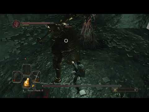 Dark Souls 2 SL1 - Elana+Velstadt No buffs (Parry fun)