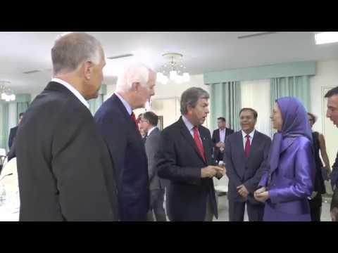 Une haute délégation du Sénat des États-Unis rencontre Maryam Radjavi à Tirana