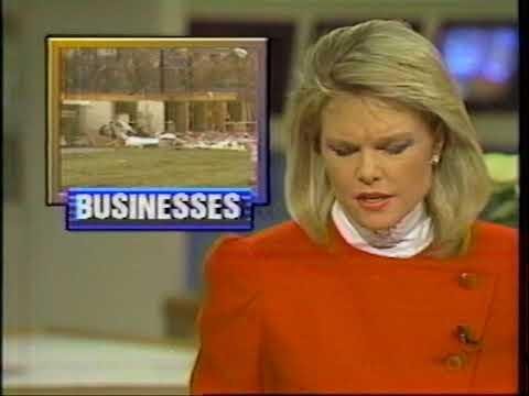 Brentwood TN Tornado Christmas Eve 1988