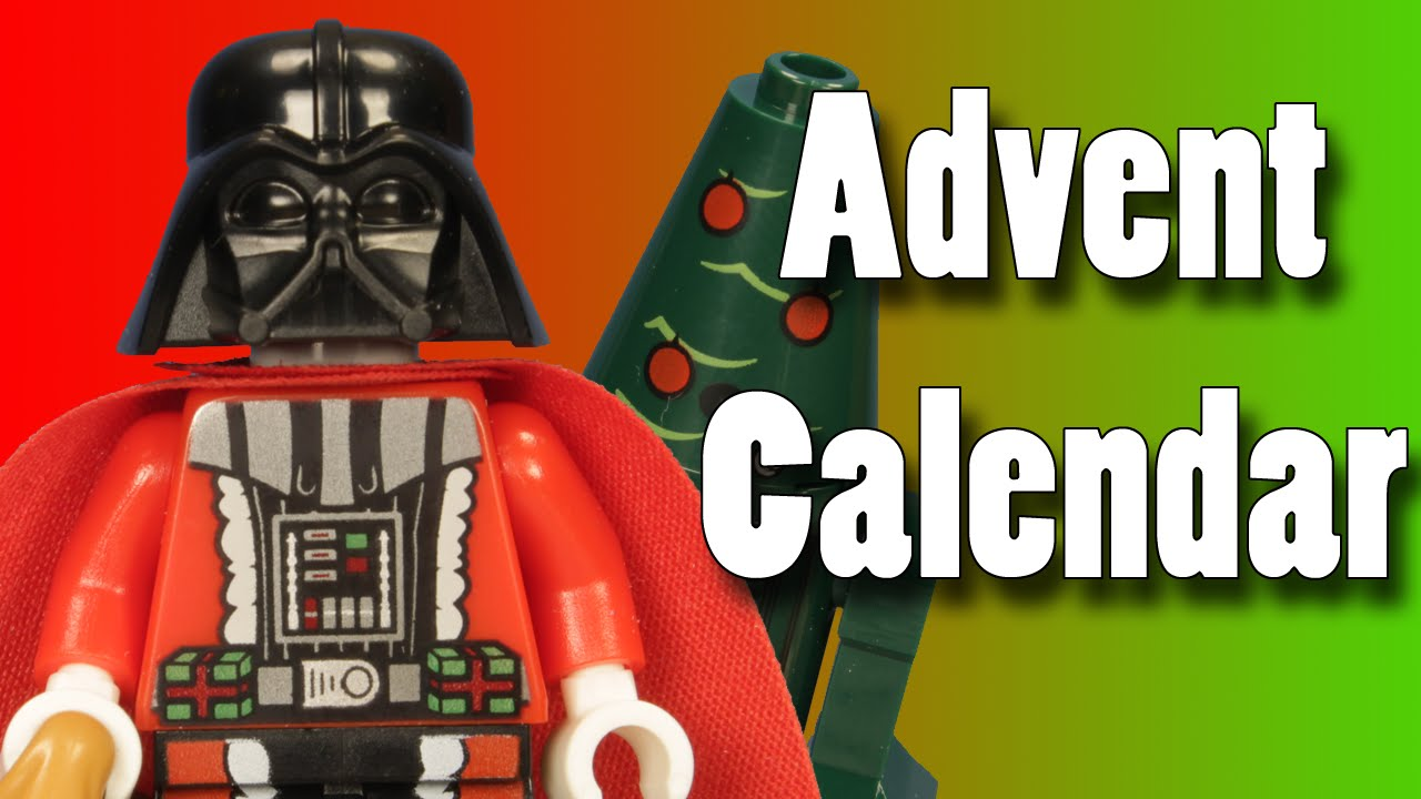 Animated LEGO Star Wars Christmas Advent Calendar