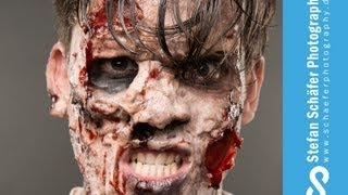 The Walking Dead - Zombie Shooting - Behind the Scenes