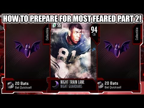 DO THIS NOW! HOW TO PREPARE FOR MOST FEARED PART 2! WHAT TO EXPECT! | MADDEN 20 ULTIMATE TEAM
