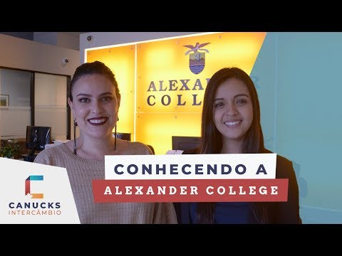 Conhecendo o Alexander College | Canucks Intercambio