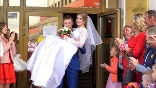 Владимир и Алёна свадебный клип Курган