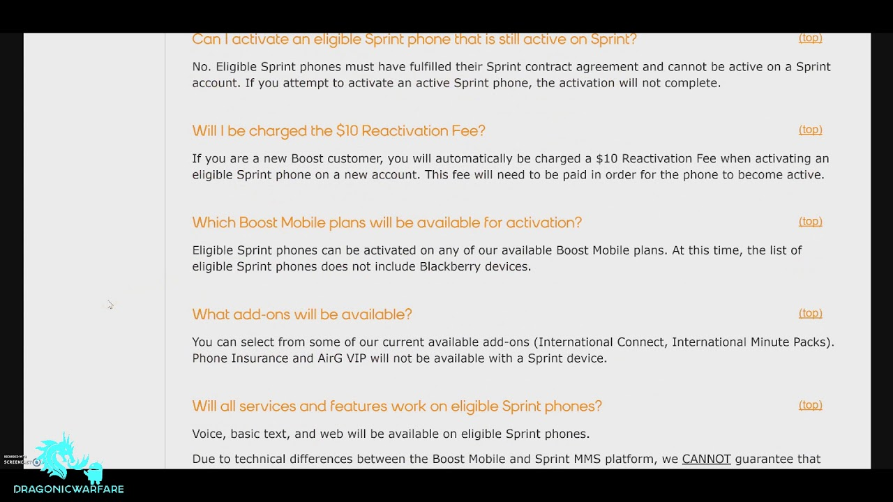 Activate Sprint Phones on Boost Mobile Updated List (2017) HD
