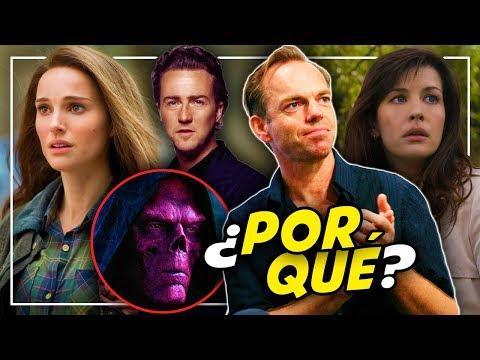 Actores que ABANDONARON Marvel Studios y sus motivos