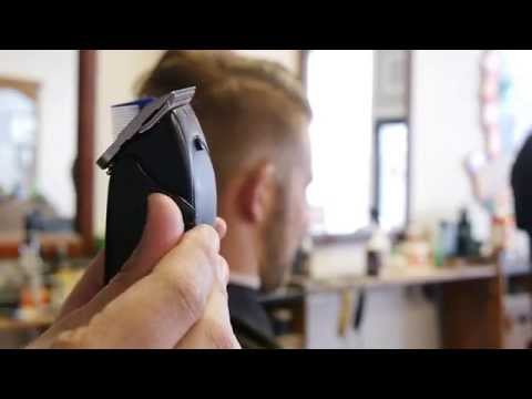 How To Cut  A Traditional Side Part/Pompadour