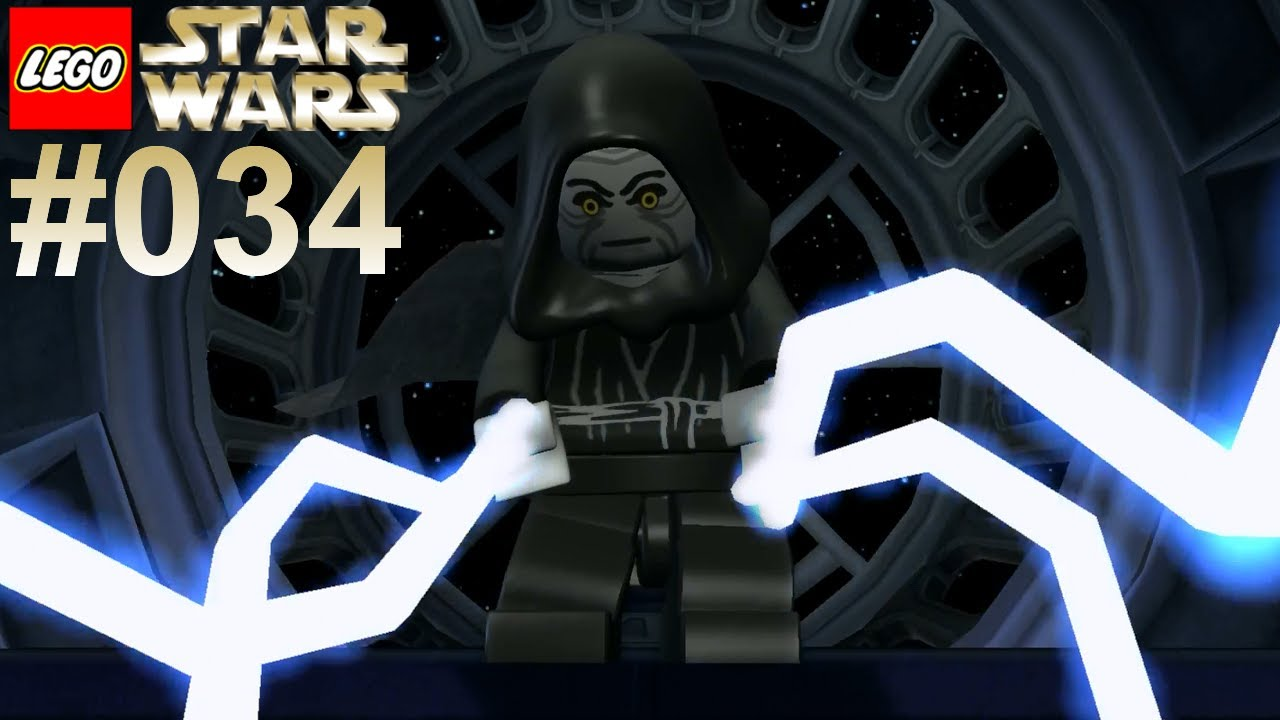 Lets Play LEGO Star Wars 034 Tod dem Imperator Together
