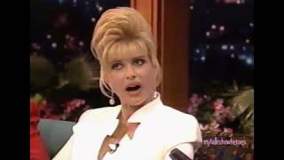 IVANA TRUMP HAS FUN WITH LENO