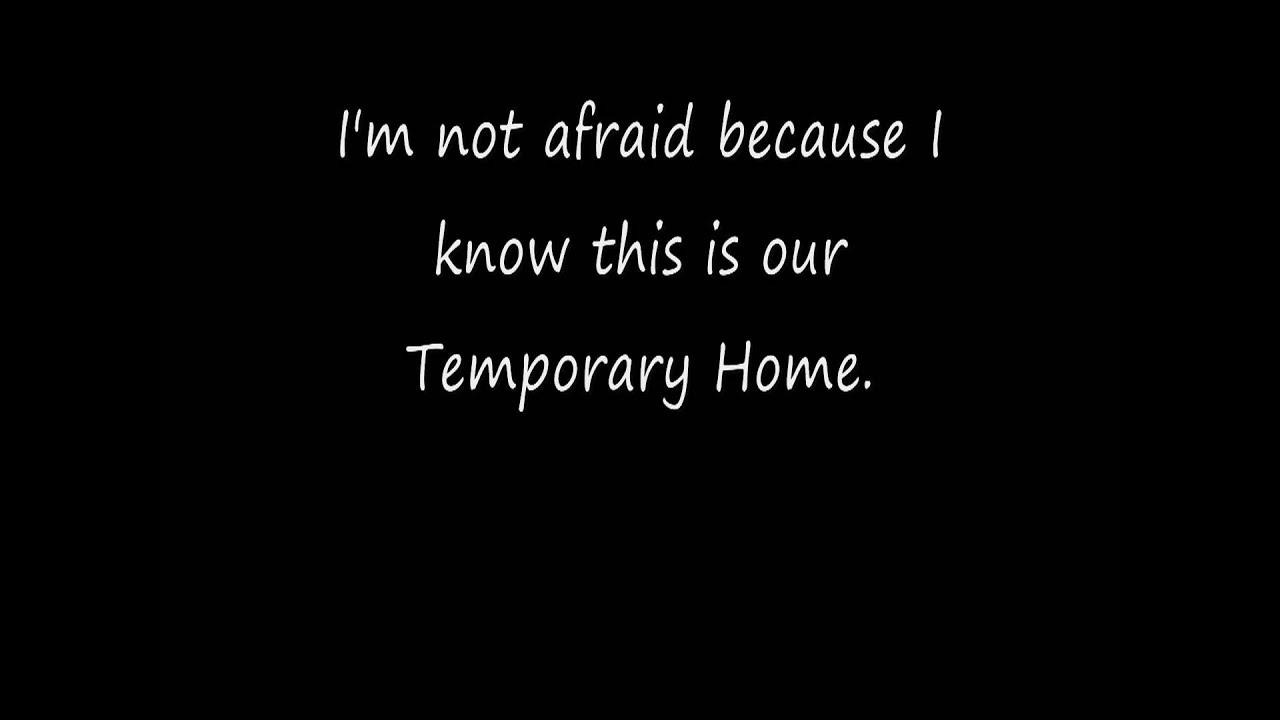 Carrie Underwood - Temporary Home - Directlyrics