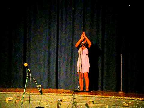 GROVER CLEVELAND HIGH SCHOOL CONCERT . ERICK AND HIS SISTER