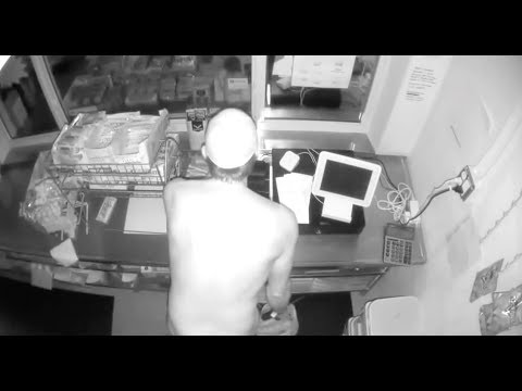 SHROOM - Naked Florida Man Wanted For Robbing Little League Concession Stand [Video]