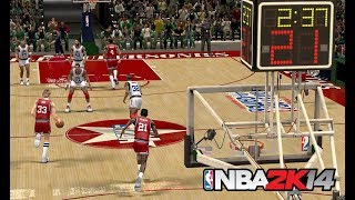 NBA 2K14 : 1987 NBA All-Star Game  @ The Kingdome (Seattle)  | 4K 60fps | PC Gameplay