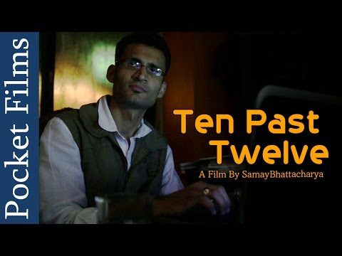 Thriller Short Film -Ten Past Twelve (with English Subtitles) | Pocket Films: What happens after you die? This Short Film is about a late night visit at ten past twelve. Watch to unravel the mystery  On a stormy night Ray, a Film Director, is caught up in his office with his work. He has an unexpected visitor and he finds comfort in his company, only to discover to his horror that things weren't quite as expected.  Subscribe to our channels for a new short film every day - http://goo.gl/lPLIY  Visit  http://pocketfilms.in to know more about us and our activities including film contests, updates, etc.  Cast & Crew:     Director: SamayBhattacharya     Editor: Samay Bhattacharya     Cinematographer: Susheel Gautam     Cast: Prashant Bhagia, Sandeep/Sandy  Are you a film maker? Want to showcase your film / documentary and also generate income? Contact us at -  info@pocketfilms.in
