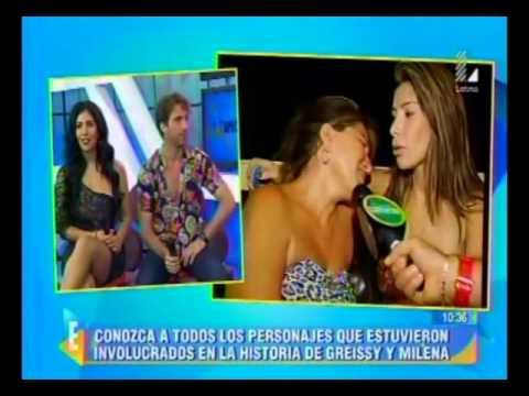 "Espectáculos: Natalia Otero tilda de ""llama"" a Edwin Sierra"