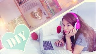 DIY: Cute Simple Bedroom Decor Accents