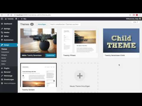 "Child Theme erstellen: Plugin ""Child Theme Wizard"""