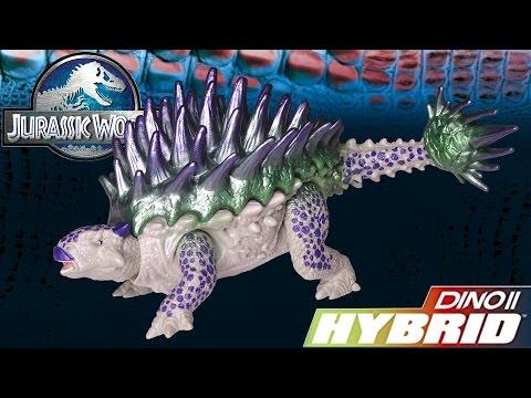 Opening: Hybrid Armor ANKYLOSAURUS Jurassic World Dino Hybrid Action Figure