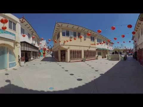 Chung King Rd, Chinatown, Los Angeles. 360° Video