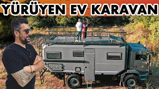 Yürüyen Ev Karavan | 1.1 Milyon TL'lik Kamyon Karavan